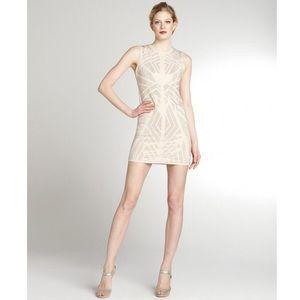 Greylin Nude Stud Dress
